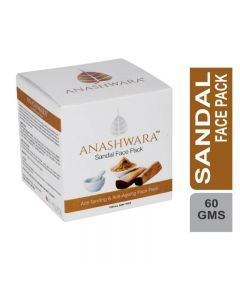 Bio Resurge  Anashwara Sandal Face Pack For Anti Tanning And Anti Ageing 60gm