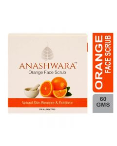 Bio Resurge Anashwara Orange Face Scrub For Bleaching And Exfoliating 60gm