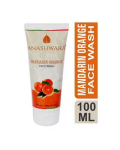 Bio Resurge Anashwara Mandarin Orange Face Wash for signs of ageing and healthy skin 100ml