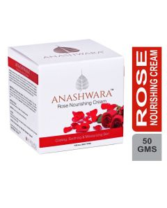 Bio Resurge Anashwara Natural Rose Nourishing Cream For Soft And Smooth Skin And Remove Acne Marks 50gm