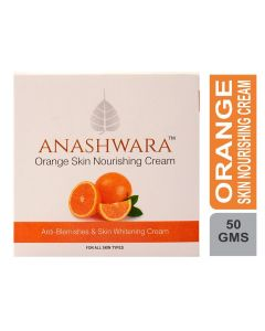Bio Resurge  Anashwara Orange Dark Spot Reducing Skin Nourishing Cream With Vitamin C 50gm