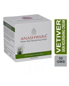 Bio Resurge Anashwara Vetiver Skin Nourishing Cream Skin Toning And Calming 50gm