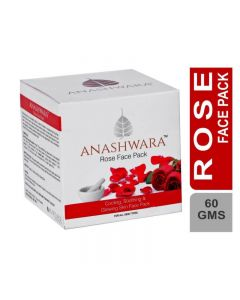 Bio Resurge Anashwara Glow Rose Face Pack For Rosy And Glowing Skin 60gm
