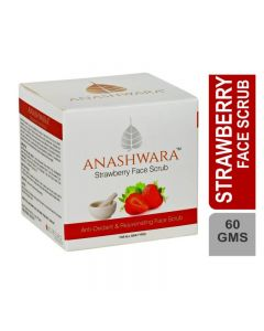 Bio Resurge Anashwara Strawberry Face Scrub For Removing Facial Scars And Spots 60gm