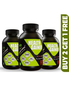 Pharma Science Natural Weight Gainer Supplement Powder - (Buy 2 Get 1 Free)