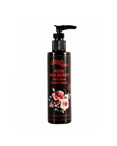 Mirah Belle Naturals Rose Mulberry Dry Skin Body Wash 200ml