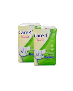 Care4 Adult Diaper extra Large(comfort) Pack of 2