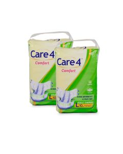 Care4 Adult Diaper Large(comfort) Pack of 2