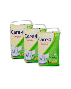Care4 Adult Diaper Large(comfort) Pack of 3