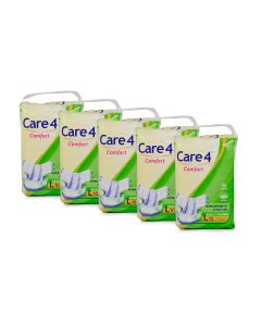 Care4 Adult Diaper Large(comfort) Pack of 5