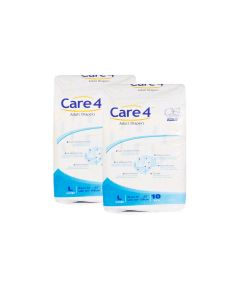 Care4 Adult Diapers Large pack of 2
