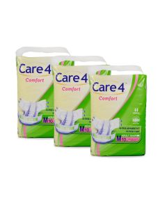 Care4 Adult Diaper Medium(comfort) pack of 3