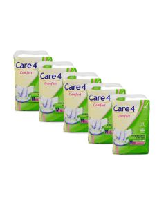 Care4 Adult Diaper Medium(comfort) pack of 5