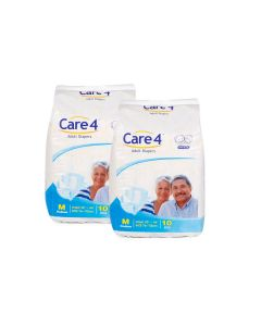 Care4 Adult Diapers Medium pack 2