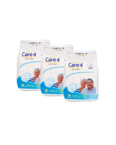 Care4 Adult Diapers Medium pack 3