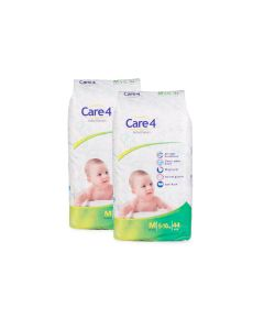 care4 baby diaper size Medium pack of 2