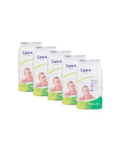 care4 baby diaper size Medium pack of 5
