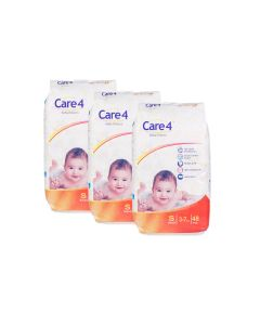 care4 baby diaper size s pack of 3