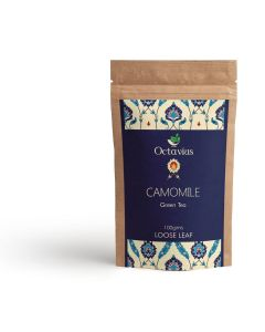 Chamomile Loose Leaf Green Tea Pouch Pack