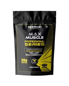 Six Pack Nutrition Max Muscle Professional Series - 2 Kg (Choco Cookies)