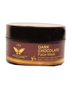 PEECURE Dark Chocolate Face Mask For Men & Women 200gm