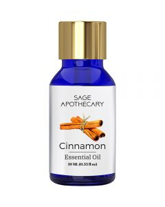 Sage Apothecary Cinnamon Essential Oil - 10ml