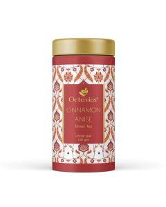 Cinnamon Anise Whole Leaf Green Tea, Tin