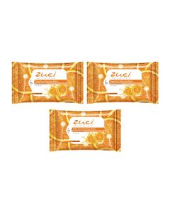 Zuci Citrus Fruit Extracts Wet Wipes - Pack of 3