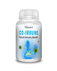 Hassnar's CO-IMMUNE Natural Immunity Booster Herbal Supplement - 60 Capsules