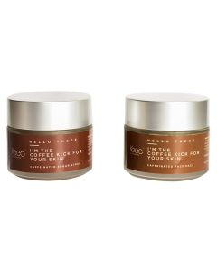 Coffee Kick by Keeo Paraben and SLS-free Vegan Easy-to-use Caffeine Infused Body and Face Exfoliating Scrub