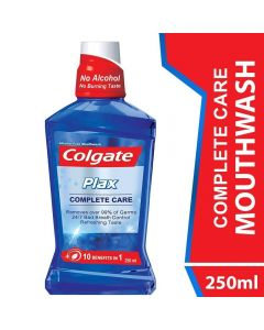 Colgate Mouthwash Plax Complete Care Alcohol Free 250ml