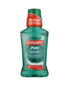 Colgate Mouthwash Plax Fresh Mint Alcohol Free 100ml