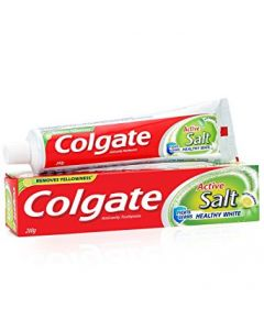 Colgate Toothpaste Active Salt Healthy White Salt & Lemon 200gm