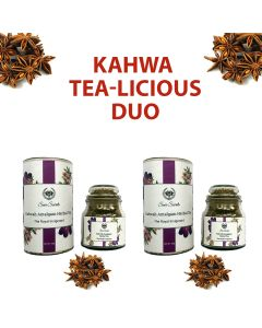 Seer Secrets Kawa Amalgum Herbal Tea Combo