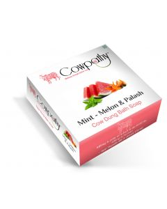 Cowpathy Mint Melon & Palash Cow Dung Bath Soap