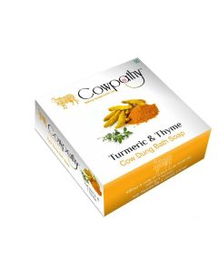 Cowpathy Orange Peel Cow Dung Bath Soap