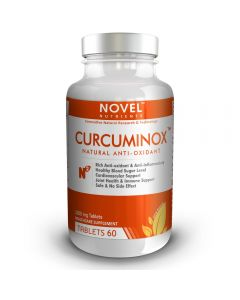 CURCUMINOX TM 1000 MG TABLETS - NATURAL ANTI-OXIDANT