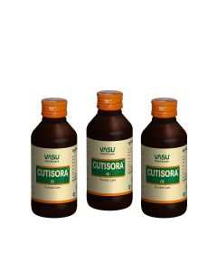 Cutisora Oil 100ml (Pack of 3)