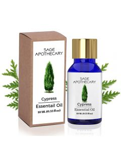 Sage Apothecary Cypress Essential Oil - 10 ml