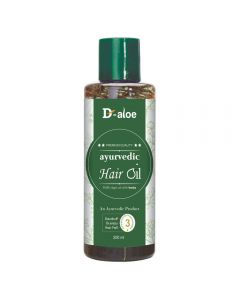 D-aloe Ayurvedic Hair Oil 200ml