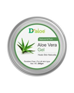 D-aloe Pure & Natural Aloe Vera Skin Gel 200gm