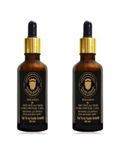 DAARIMOOCH BEARD GROWTH OIL TWIN PACK