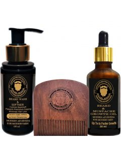 DAARIMOOCH BEARD GROWTH TREATMENT KIT