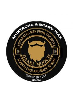 DAARIMOOCH MUSTACHE & BEARD WAX (SPICY BURST)