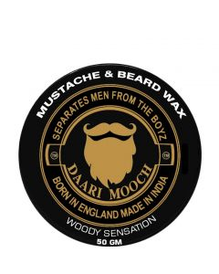 DAARIMOOCH MUSTACHE & BEARD WAX (WOODY SENSATION)