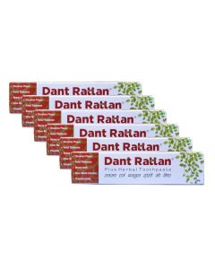 Dant Rattan Herbal Plus Toothpaste 100gm (Pack of 3)