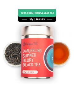 Udyan Tea Darjeeling Summer Glory Black Tea Tin 50 g