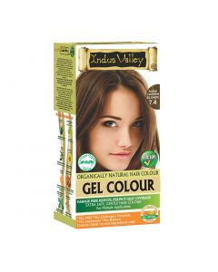 Indus Valley Gel Hair Color  Dark Copper Blonde7.4