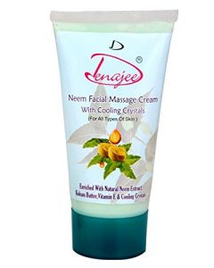 Denajee Neem Facial Massage Cream With Cooling Crystals 150gm