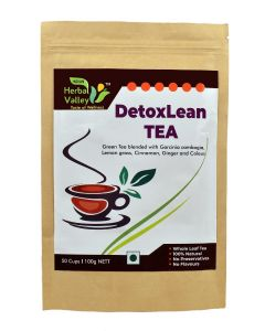 Indian Herbal Valley DetoxLean 100 gms Herbal Green Tea for Weight Management
